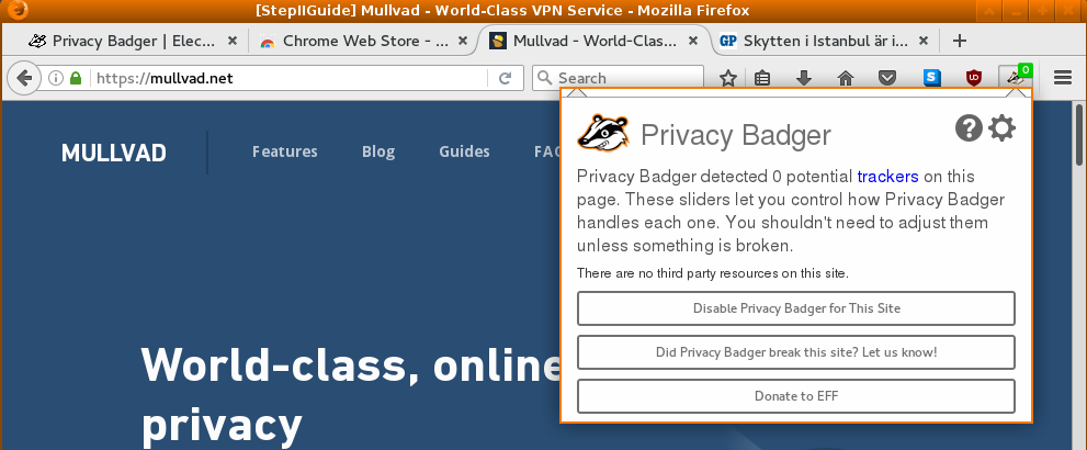 Plugins that block and protect - Guides | Mullvad VPN
